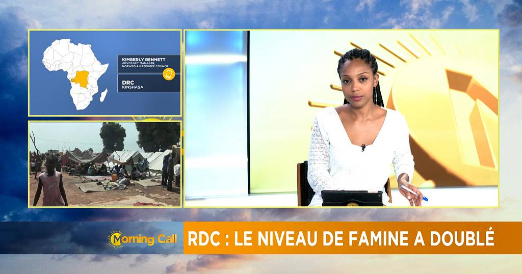 Hunger levels double in DR Congo [The Morning Call]