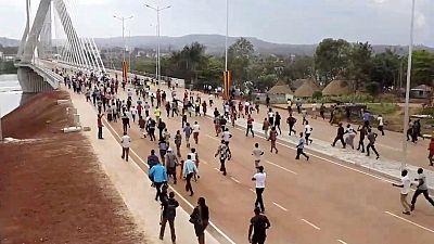 Thousands race to witness new Nile Bridge in Uganda