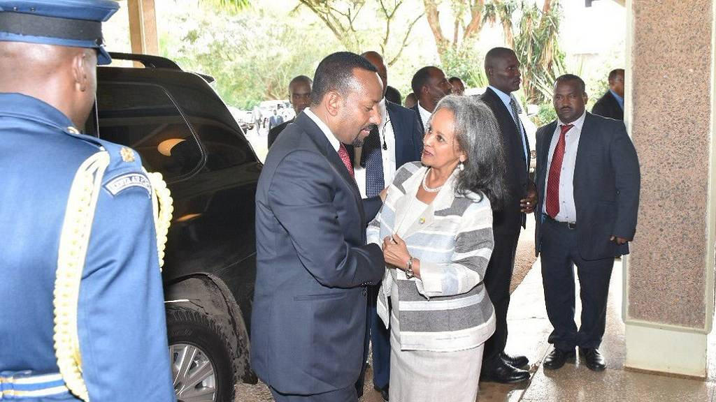 Sahle-Work Zewde is elected Ethiopia's first Female President