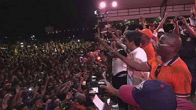 Andry Rajoelina en campagne à Tamatave