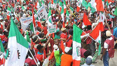 Nigerian trade unions threaten to resume strike over minimum wage