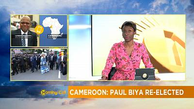 Cameroun : Paul Biya réélu président [The Morning Call]