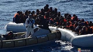 African migrants at Morocco - Spain borders