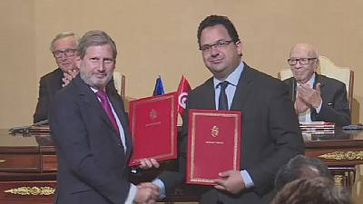 European Commission signs 4 agreements with Tunisia worth € 270 mln