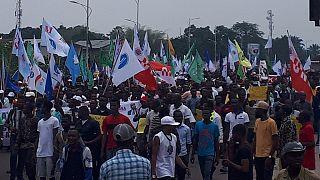 RD Congo : marche pacifique de l'opposition contre la machine à voter pendant les élections
