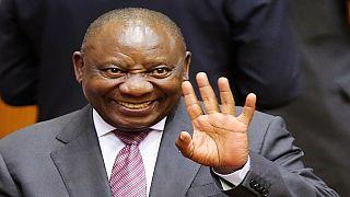 Ramaphosa recherche 100 milliards de dollars d'investissements pour son pays