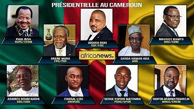 """Crise électorale au Cameroun : un ministre promet la """"plus grande fermeté"""""""