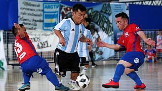 Argentina: Little people Copa America tournament