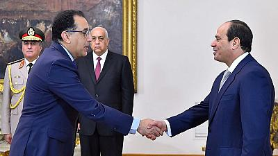 Chinese vice president meets with Egyptian president, prime minister