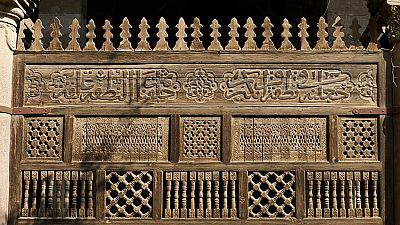 Égypte: la mosquée d'Amir al-Maridany, joyau du 19 e siècle en pleine rénovation