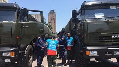 DRC govt supplies poll logistics: lorries, planes and helicopters
