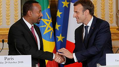 France's Macron vows to back Ethiopia's reforms