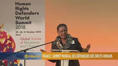 France : sommet mondial des défenseurs des droits humains [The Morning Call]