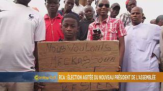 Centrafrique : élection agitée du nouveau président de l'assemblée [The Morning Call]