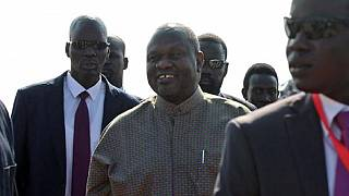 Ex-South Sudan VP Machar arrives in Juba for peace celebration