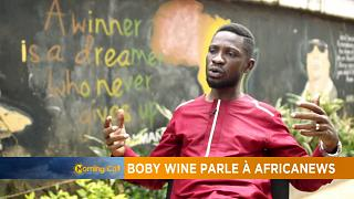Uganda's pop star Bobi Wine in interview with Africanews [The Morning Call]