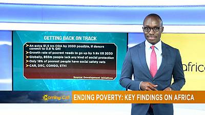 Ending poverty: key findings on Africa