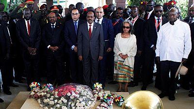 Regional Presidents Machar Join South Sudan Peace Celebration