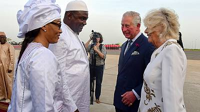Photos: Prince Charles, wife start Commonwealth tour in Gambia