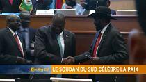 Le Soudan du Sud célèbre l'accord de paix [The Morning Call]