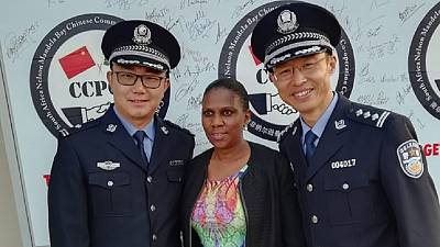South Africa gets 13th Chinese police co-op unit, language center