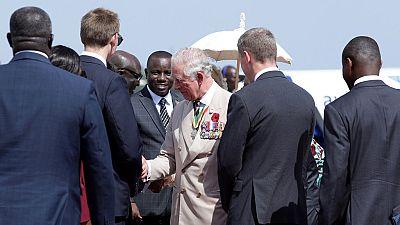Le prince Charles et son épouse Camilla arrivent au Ghana