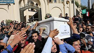 Security tight ahead of funerals for Egyptian Christians killed by gunmen