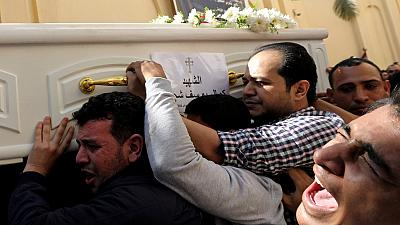 Egypt's Christians bury victims of latest militant attack
