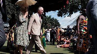 Prince Charles, Camila meet Ghana's Ashanti King Osei Tutu II