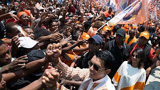 """Présidentielle à Madagascar : Andry Rajoelina veut """"sauver le pays"""""""