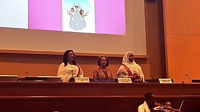 Ethiopia president, women appointees start nationwide peace drive