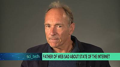 Father of web sad about state of the internet [Sci tech]