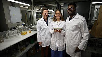 Afrique du Sud : des étudiants conçoivent des briques à partir d'urine