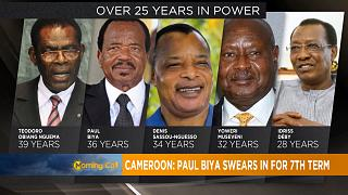 Cameroon's president Paul Biya begins new seven-year term [The Morning Call]