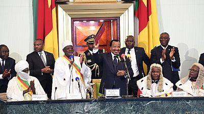 """Cameroun : le président Biya reconnaît """"les frustrations et les aspirations"""" en zone anglophone"""