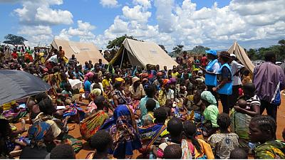 Mozambican refugees return home