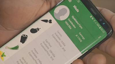 Award-winning app boosts farmers in South Africa