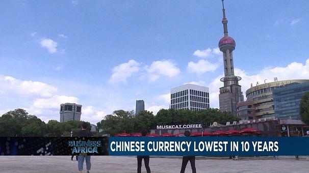 Dépréciation historique du Yuan par rapport au Dollar