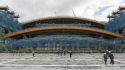 Tokyo 2020 Gymnastics venue progresses steadily
