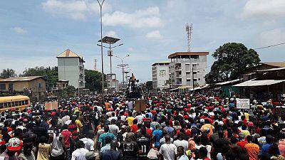 Guinée : deux morts dans une manifestation à Conakry (familles et témoins)