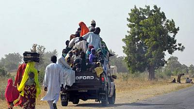 Nigeria : Maiduguri, victime des attaques de Boko Haram...