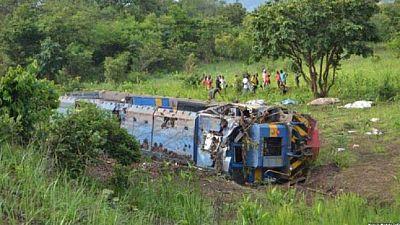 RDC : au moins dix morts dans le déraillement d'un train dans l'Est