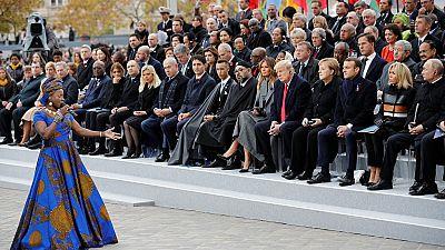 Première Guerre mondiale : Angélique Kidjo interprète un « hymne à la paix » lors du centenaire