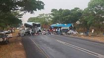 47 persons killed in Zimbabwe bus collision [No Comment]