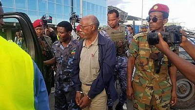 When Ethiopia's ex-military chief was arrested, arrival in Addis