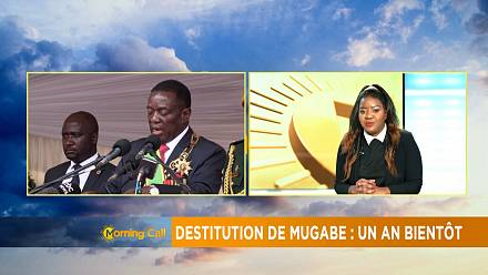 Démission de Robert Mugabe : un an bientôt [the morning call]