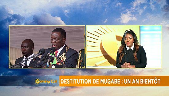 Démission de Robert Mugabe: un an bientôt [the morning call]