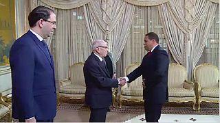 Le nouveau gouvernement tunisien à prêté serment