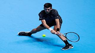 Djokovic stuns Zverev at ATP finals