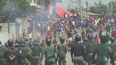 """Guinée : manifestation contre les """"violences policières"""""""